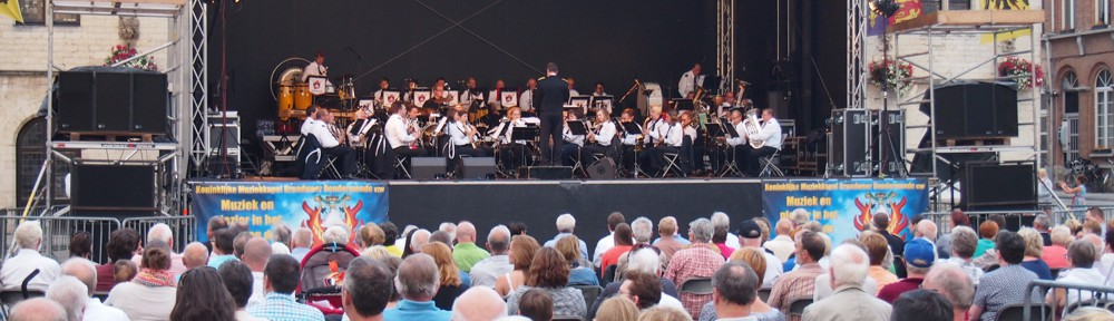 Concert Nationale Feestdag Koninklijke Muziekkapel Brandweer Dendermonde met Geena Lisa - 22